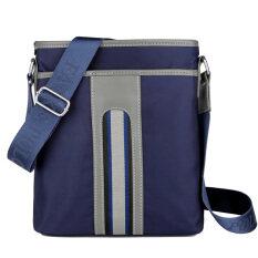ราคา ลำลองผู้ชายธุรกิจของ Messenger กระเป๋าเป้สะพายหลังผ้า Oxford กระเป๋าชาย สีฟ้า สีฟ้า เป็นต้นฉบับ