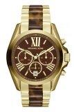 ขาย Michael Kors Bradshaw Chronograph Tortoiseshell Ladies Watch Mk5696 Gold ใน Thailand
