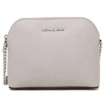 Michael Kors Cindy Dome Saffiano Leather Crossbody 32H4SCPC7L - Cement