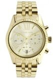 ราคา Michael Kors Ladies Chronograph Watch Stainless Strap Mk5556 Gold ออนไลน์