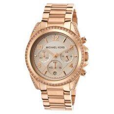 ขาย ซื้อ Michael Kors นาฬิกาข้อมือผู้หญิง สายสแตนเลส รุ่น Mk5263 สีโรส โกลด์