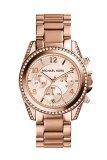 ซื้อ Michael Kors รุ่น Mk5263 Michael Kors Women S Mk5263 Blair Rose Gold Tone Watch Michael Kors