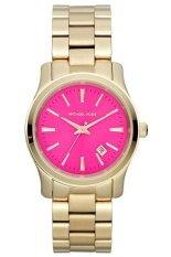 ขาย Michael Kors นาฬิกาผู้หญิง สีทอง สาย Stainless รุ่น Mk5801 ถูก