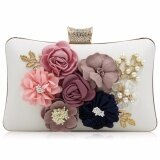 ซื้อ Milisente New Design Flower Clutches Women Clutch Lady Beauty Diamond Flower Day Clutches Female Wedding Purses 19854 Intl