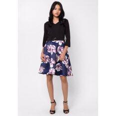 ส่วนลด สินค้า Mirror Dress ชุดเดรส Floral Print Flare