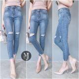 โปรโมชั่น Miss Jean กางเกงยีนส์ Skinny รุ่น Mj07 07 สียีนส์โทนกลาง Thailand