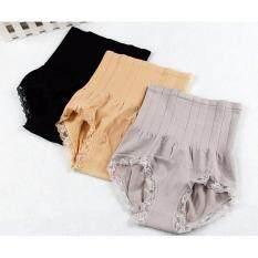 ซื้อ Mk Brabra กางเกงในเก็บพุง Set 3 ตัว สีดำ สีเทา สีเนื้อ ใหม่