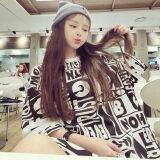 ขาย Mm เสื้อยืดตัวอักษรเกาหลีพิมพ์ซุปเปอร์ สีรูปภาพ Unbranded Generic