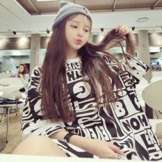ราคา Mm เสื้อยืดตัวอักษรเกาหลีพิมพ์ซุปเปอร์ สีรูปภาพ Unbranded Generic ฮ่องกง