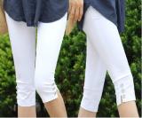 ขาย Mm เสื้อผ้าแฟชั่น Slim เป็นบางฤดูร้อนนางสาวส่วนบางหุ้มขากางเกง สีดำ Unbranded Generic ถูก