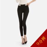 ราคา Jian Chuan กางเกงหญิงยาว 9 ส่วน เอวสูง ขาเล็ก ไซส์ใหญ่ สีขาว สีดำ 9 จุดกางเกง สีดำ 9 จุดกางเกง ออนไลน์