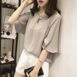 ขาย เสื้อยืดหญิง คอกลม ผ้าชีฟอง ฟรีไซส์ สีขาว เทา ชมพู สีขาว สีขาว ถูก ใน ฮ่องกง
