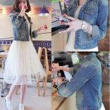 ขาย ซื้อ Mod แจ็คเก็ตยีนส์สตรีแขนยาว ผ้ายีนส์ เสื้อแจ็คเก็ตผู้หญิง รุ่น 9004 กรุงเทพมหานคร