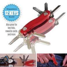 ซื้อ Momma Diy อุปกรณ์ จัดระเบียบ พวงกุญแจ คีย์การ์ด ทรัมไดร์ บาง ปลอดภัย สีแดง D I Y Red Slim Clever Smart Key Holder Ring Keys Cards Thumbdrive ไทย