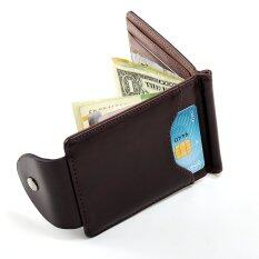 Money Clips Korea Fashion High Quality Men Wallets Hasp Mini Purses จีน