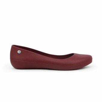 MONOBO Signature รองเท้าคัชชู รุ่น EMMA สีน้ำตาลแดง