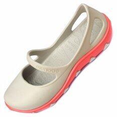 ทบทวน ที่สุด Monobo Tammy รองเท้าโมโนโบ้ สีเบจส้ม