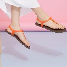 ราคา Moo Chuu รุ่นMc04 Sandal พิ้นน้ำตาลหูส้ม ใหม่ล่าสุด