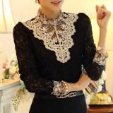ส่วนลด Moon Sunday Women S Long Sleeve Fashion Solid Color Plus Size Loose Casual Chiffon T Shirt Top Blouse Intl Moon Sunday จีน