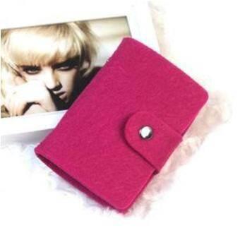 Moonar ใหม่ผู้หญิงบัตรกระเป๋าบัตรเครดิต (โรส)-สนามบินนานาชาติกระเป๋ากระเป๋าใส่นามบัตรที่ใส่นามบัตร-