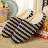 ราคา Moonar Women Men Home Warming Soft Slippers Winter Slippers Shoes Coffee 44 45 Intl ออนไลน์