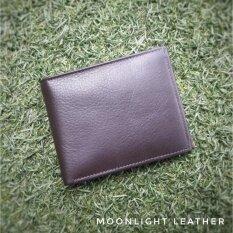 ราคา กระเป๋าสตางค์หนังแท้ Moonlight สำหรับผู้ชาย รุ่น Bellami หนังลูกวัว เบาบางแต่นุ่มเหนียว ของแท้พร้อมกล่อง ส่งฟรี Moonlight