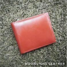 ซื้อ กระเป๋าสตางค์หนังแท้ Moonlight รุ่น Boss สีน้ำตาลแทน ของแท้ 100 พร้อมกล่อง ขายโดยตรงจากผู้ผลิต ใหม่