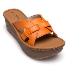 ราคา Mossono รองเท้าแฟชั่นหญิง รุ่น P229 ส้ม ใน กรุงเทพมหานคร