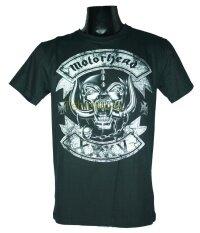 ราคา เสื้อวง Motorhead เสื้อยืดวงดนตรีร็อค เสื้อร็อค มอเตอร์เฮด Mth1508 ส่งจากไทย ถูก