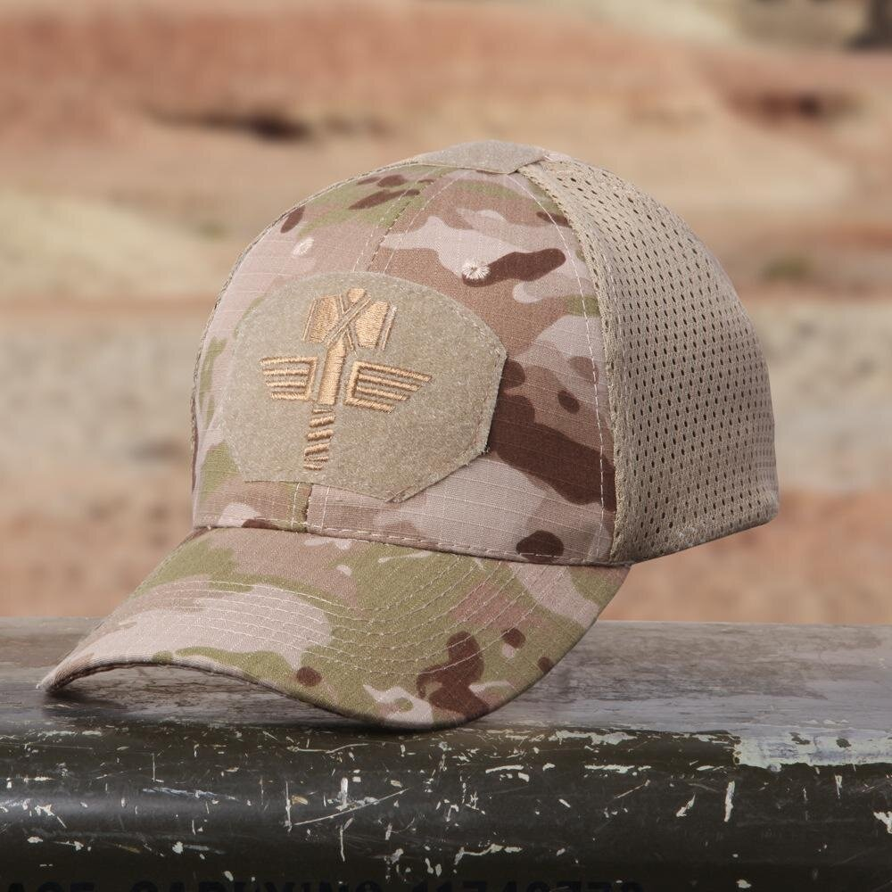 Multicam Camo Outdoor Tactical Cap Military Hunting Hiking Baseball Hat 4 Colors - intl