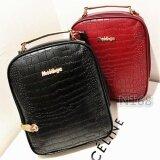 ราคา กระเป๋าสะพายหลัง ผู้หญิง กระเป๋าแฟชั่น กระเป๋าเป้เกาหลี รุ่น N10025 สีดำ ใหม่ล่าสุด