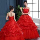 ขาย นางเงือกชุดแต่งงานเจ้าสาวชุดลูกไม้ยาวเปิดไหล่ด้วยเลื่อมลูกปัดคริสตัล นานาชาติ ราคาถูกที่สุด