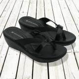 ราคา Naturalizer Border Stitch รองเท้าแตะถักขอบ สีดำ Naturalizer เป็นต้นฉบับ