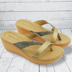 ขาย Naturalizer Border Stitch รองเท้าแตะถักขอบ สี Bronze Naturalizer เป็นต้นฉบับ