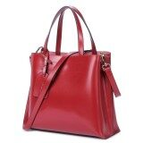Nawo Women S Genuine Cow Leather Fashion Casual Zpper Strap Tote Bag(Clearance Sale) Intl เป็นต้นฉบับ