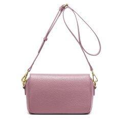 ซื้อ Nawo Women S Genuine Cowhide Leather Shoulder Bag Pink Free Gift Employee S Card Holder Unbranded Generic ถูก