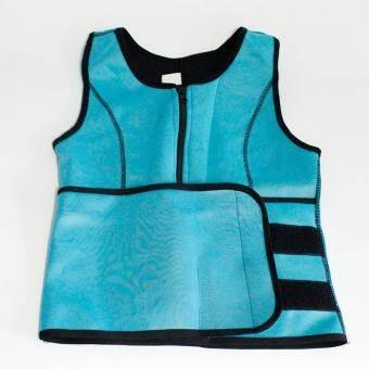 2acbf7d1baa Neoprene Sauna Waist Trainer Vest Hot Shaper Summer Workout Shaperwear  Slimming Adjustable Sweat Belt Fajas Body