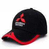 ส่วนลด New 3D Logo Mitsubishii Hat Car Caps Motogp Moto Racing F1 Baseball Cap Men Women Adjustable Casual Trucker Hat Wholesale Retail Intl จีน