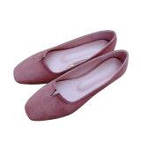 ทบทวน New Arrival Women Flat Shoes Loafers Shoes Causal Shoes Pink Intl Unbranded Generic