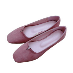 New Arrival Women Flat Shoes Loafers Shoes Causal Shoes Pink Intl Unbranded Generic ถูก ใน จีน