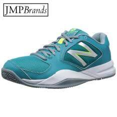 ซื้อ New Balance นิวบาลานซ์ สำหรับผู้หญิง รุ่น Wc696Bb2 รองเท้าผ้าใบกีฬาเทนนิส ออกกำลังกาย สีขาว ออนไลน์ ถูก