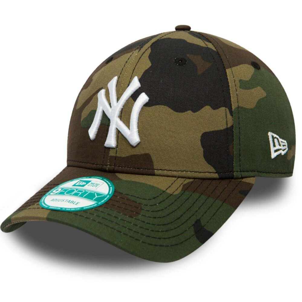 New Era 9FORTY 80489109 The League Basic New York Yankees Adjustable (Camo)