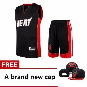 ใหม่ที่มีคุณภาพสูงผู้ชายบาสเกตบอลชุดบาสเกตบอลเสื้อกีฬาบาสเกตบอล + ฟรีหมวกยี่ห้อใหม่. -นานาชาติ