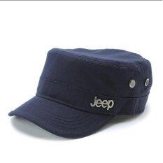 ขาย New Style Baseball Cap Casual Outdoor Sunshade Hat Short Eaves Men S Cap(Navy) Intl ออนไลน์