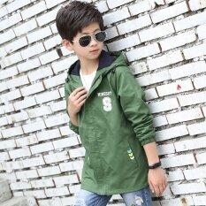 ซื้อ New Style Spring Korean Children Jacket Windbreaker Boy Casual Clothes Green Intl ใหม่ล่าสุด