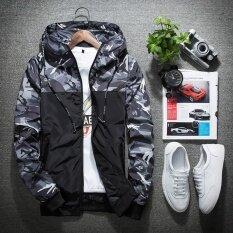 ขาย ซื้อ ใหม่บางรุ่นสบายๆเสื้อแจ็คเก็ตผู้ชาย สีเทา สนามบินนานาชาติ ใน จีน
