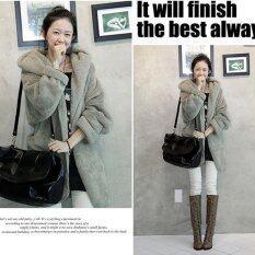 New Women's Hoodie Down Warm Outerwear Cardigan Jacket Coat - Intl.
