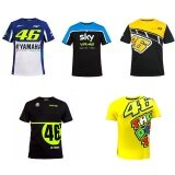 ราคา Newest Moto Gp Vr46 Rossi Motorcycle Fashion Short Sleeve T Shirt Sports And Leisure Sky Blue Black Size M Intl Thailand
