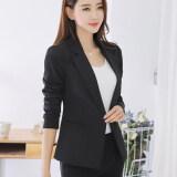 ซื้อ สามารถ Ni เกาหลีฤดูใบไม้ผลิและฤดูใบไม้ร่วงใหม่นางสาวเสื้อ สีดำ ออนไลน์ ถูก