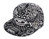 ราคา Niceeshop ผ้าใบขนาดใหญ่ดวงตาเรืองแสงสำหรับบุรุษสวมหมวกเบสบอลหมวก Snapback ปรับได้ง่าย เป็นต้นฉบับ